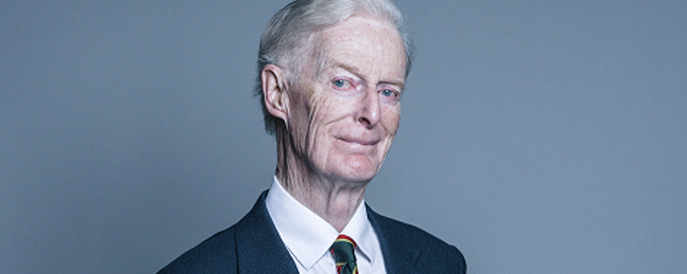 Lord McColl of Dulwich is ECPAT UK's 2015 Children's Champion