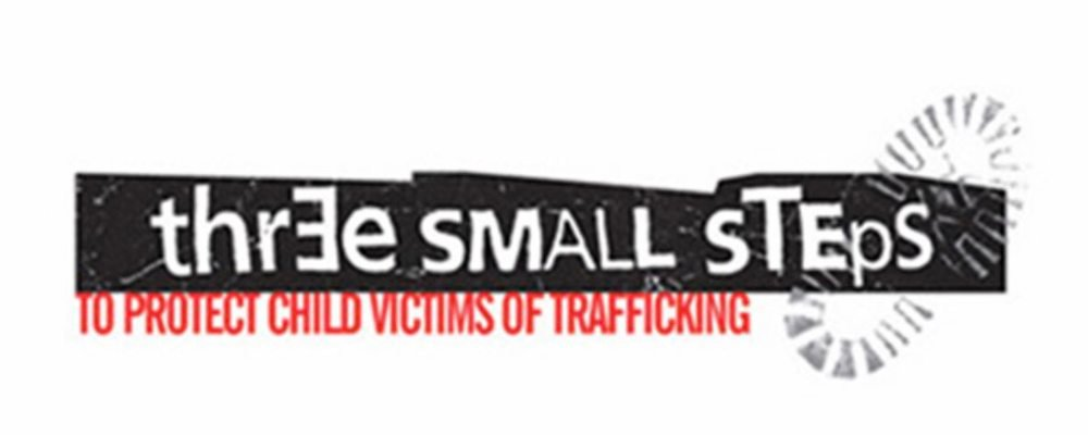 ECPAT UK Three Small Steps campaign logo