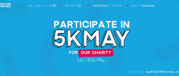 Take part in the 5k May challenge!